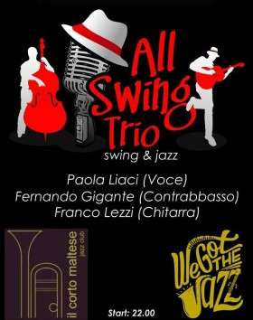 Tue 1st January – All Swing Trio